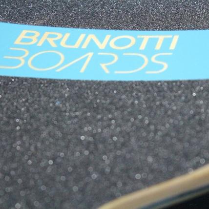 Brunotti Bob Longboard Blue and White