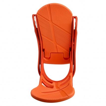 Burton Mission Reflex Snowboard Bindings Orange Sick Le base plate