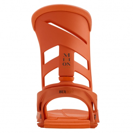 Burton Mission Reflex Snowboard Bindings Orange Sick Le hiback