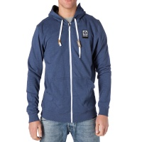 Mystic - Fresh 2.0 Hooded Zip Sweat in Blue