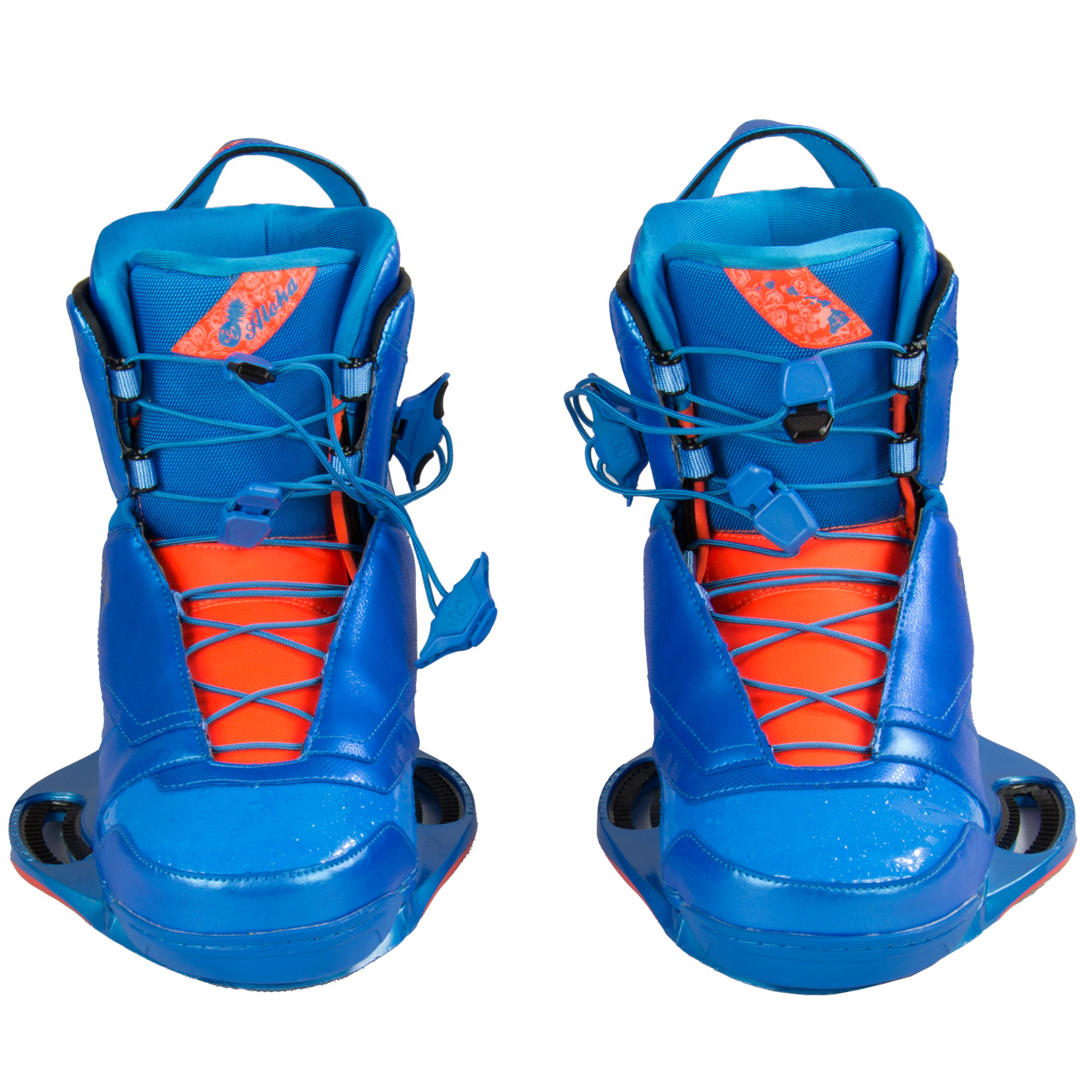 Ronix Franks 2014 Blue Wakeboard Boots Bindings Atbshop