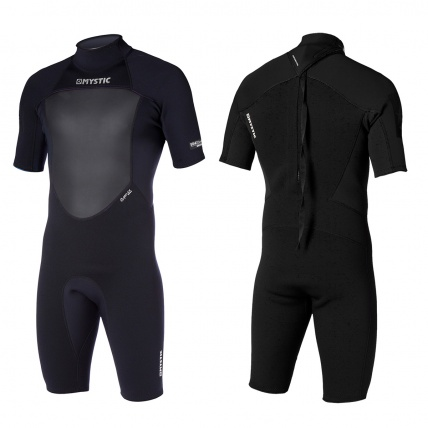 Mystic Boarding Mystic Star 3/2mm Back-Zip Shorty Mens Wetsuit