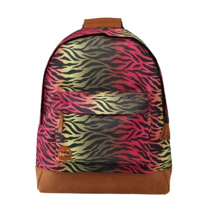 Mi-Pac Custom Hot Zebra Backpack Bag
