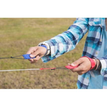 Cross Kites Air Rainbow 2 Line Powerkite in use at Lydiard Park