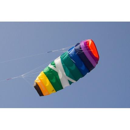 Cross Kites Air Rainbow 2 Line Powerkite in use