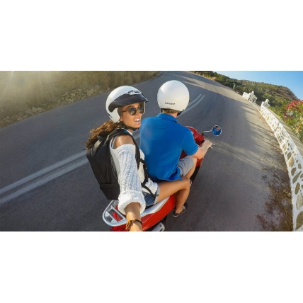 GoPro 3 Way Selfie Stick Moped Photo