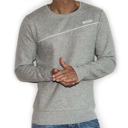 21 Scars Legacy Sweater in Heather Grey