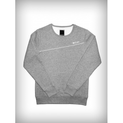 21 Scars Legacy Sweater in Heather Grey