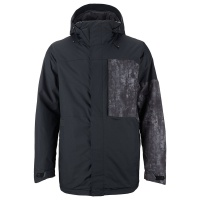 Burton - Sutton Snow Jacket in Black Washed Out