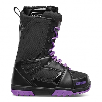 Thirty Two 32 Exit Womens Snowboard Boots Black Purple 2015