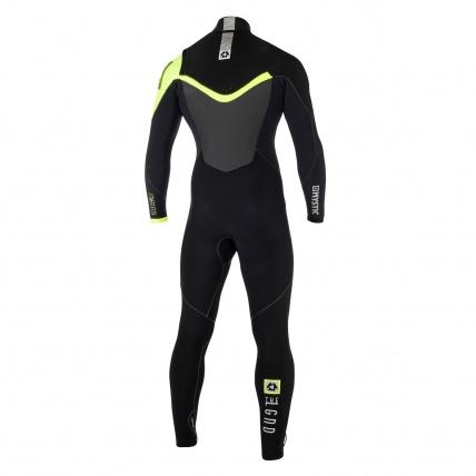 Mystic Legend 5/3 Front Zip Quick Dry Wetsuit back view
