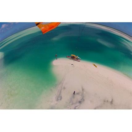 camrig gopro kitesurf kite strut mount
