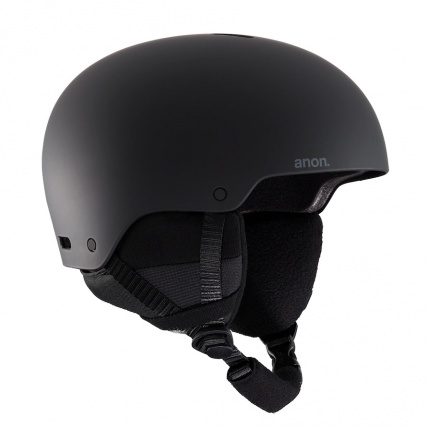 Anon Raider 3 Black Mens Ski Snowboard Helmet