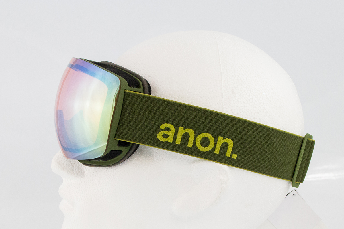 ccd52099493 Anon MIG Snowboard Goggles with Facemask in Gold Chrome ...