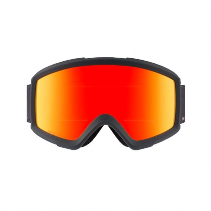 Anon Helix 2.0 Rush Red Solx Snow Goggle Front