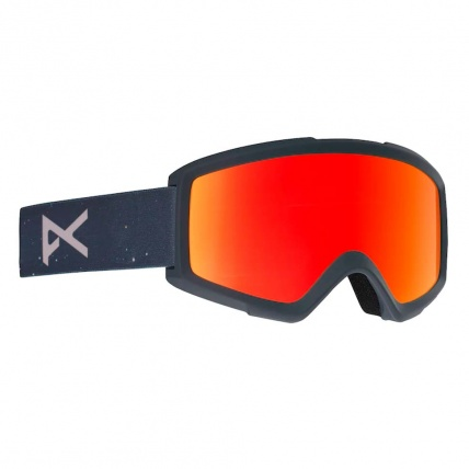 Anon Helix 2.0 Rush Red Solx Snow Goggle Right