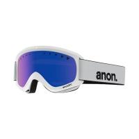 Anon - Helix Snow Goggle in White Blue Solex