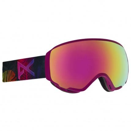 Anon WM1 Digi Tiki Pink Cobalt Womens Snow Goggle