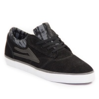 Lakai - Griffin Skate Shoes in Black Grey