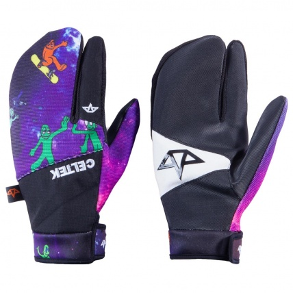 Celtek Trippin Pipe Spaced Out Snowboard Mitt
