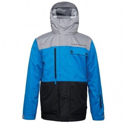686 Authentic Smarty Form Jacket Blue Colour Block Snowboard