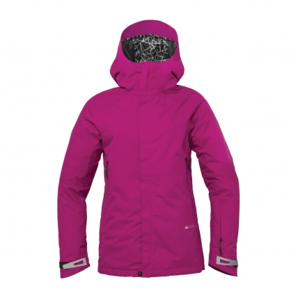 686 Glacier Chrystal Womens Snowboard Jacket in Light Orchid