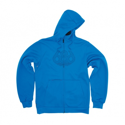 686 Airflight Icon Bonded Hoody Blue