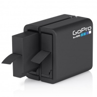GoPro - Hero 4 Dual Battery Charger and Spare Battery