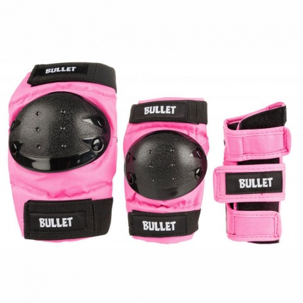 Bullet Combo Pad Set Junior Large in Pink