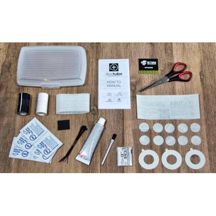 Dr. Tuba Complete Kite Repair Kit Parts List