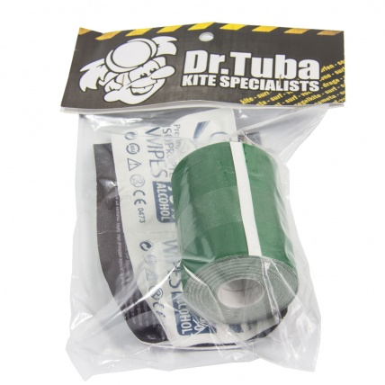 Dr. Tuba Dacron Kite Repair Tape in Green
