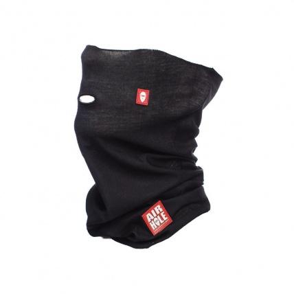 Airhole Airtube Simple Black Facemask