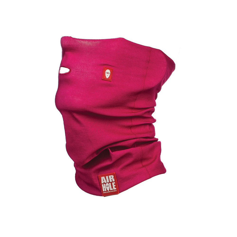 Airhole Airtube Simple Pink Womens Snowboard Facemask ... 435aaa0328