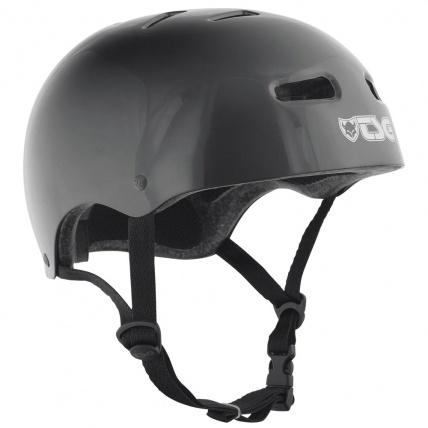TSG Skate/BMX Helmet in Injected Black