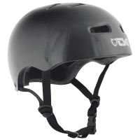 TSG - Skate BMX Helmet in Injected Black
