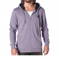 Mystic -  Fresh Hooded Zip Sweat 3.0 in Purple