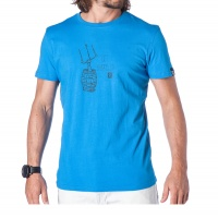 Mystic - Barrel Kitesurfing T-Shirt Summer Blue