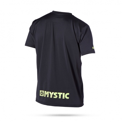 Star Quick Dry Short Sleeve T in Black Back