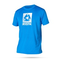 Mystic - Star Quick Dry T-Shirt Short Sleeve Rash Vest in Blue