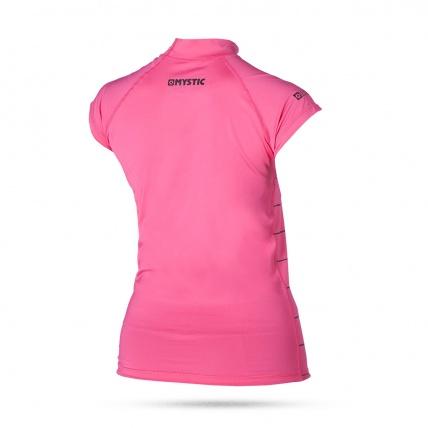 Star Womens Rash Vest in Pink Back