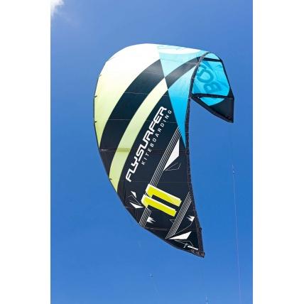 Flysurfer Boost2 Yellow Blue Kitesurf Kite