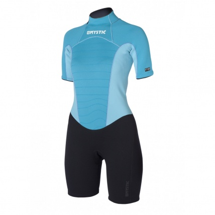 Front of Mystic Star Womens 3/2mm Wetsuit Mint