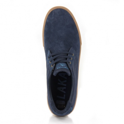 Lakai MJ in Navy Gum top view