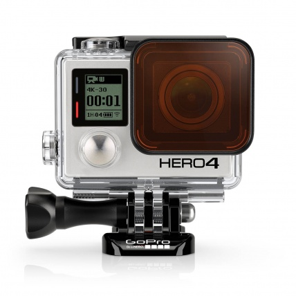 GoPro Red Dive Filter for Standard and Blackout Housing on GoPro