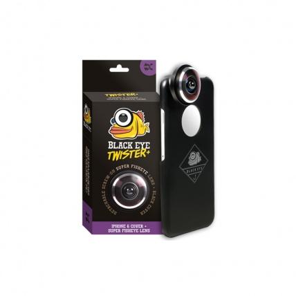 IPhone 6 Black Eye Twister Fish Eye Lens