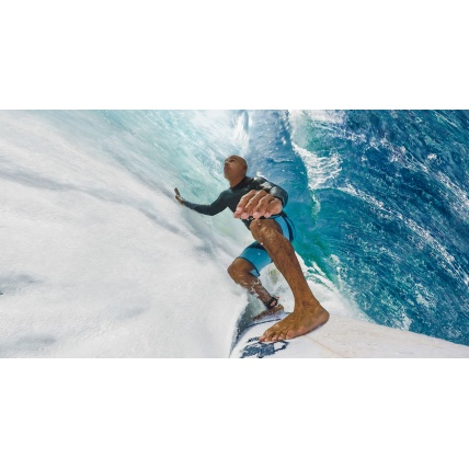 GoPro Hero Camera in use surfing