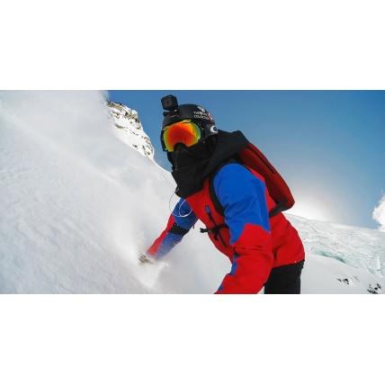 GoPro Hero Camera in use snowboarding