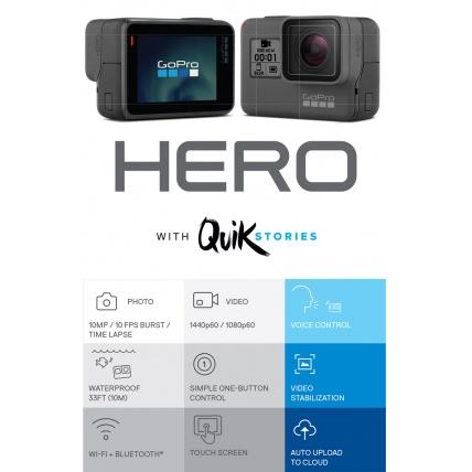 GoPro Hero 2018 Action Camera Specs