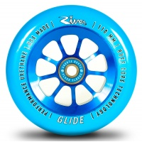 River Wheel Co - Glide 110mm Wheel Blue PU Blue Core