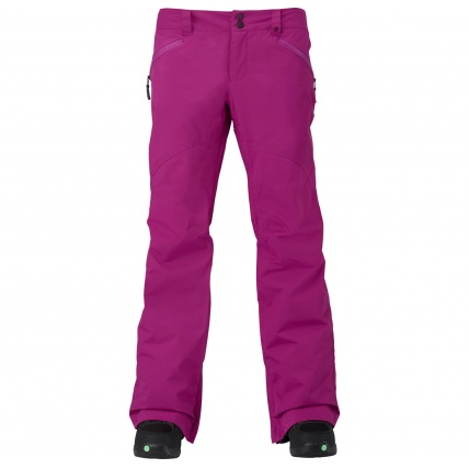 Burton Women's Society Pant in Grapeseed front